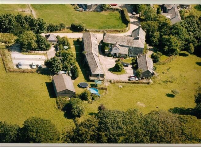Trevadlock Manor West Wing - Launceston - Huis