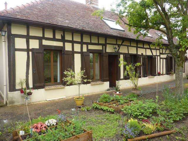maison champenoise  pan de bois 5p  - Troyes