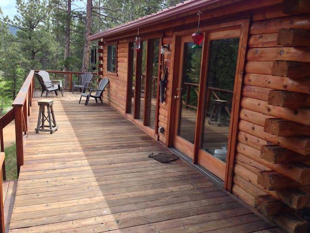 Deer Creek Log Cabin in Colorado! - Bailey - Cabaña