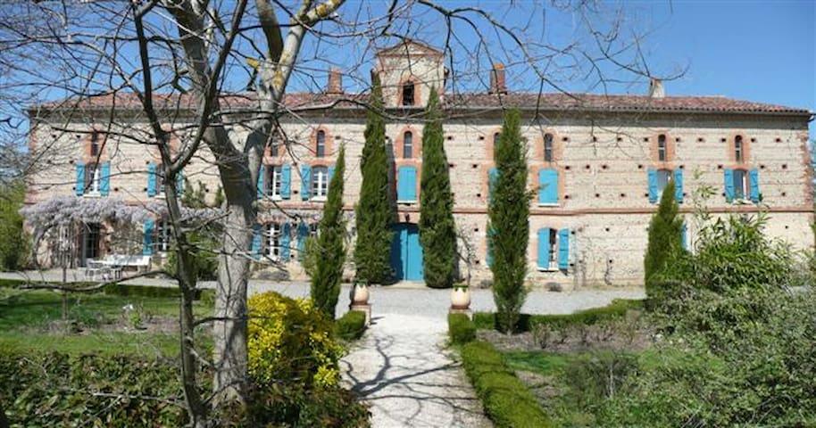 Grand gite rural avec piscine-3épis - Saint-Sulpice-sur-Lèze - Huis