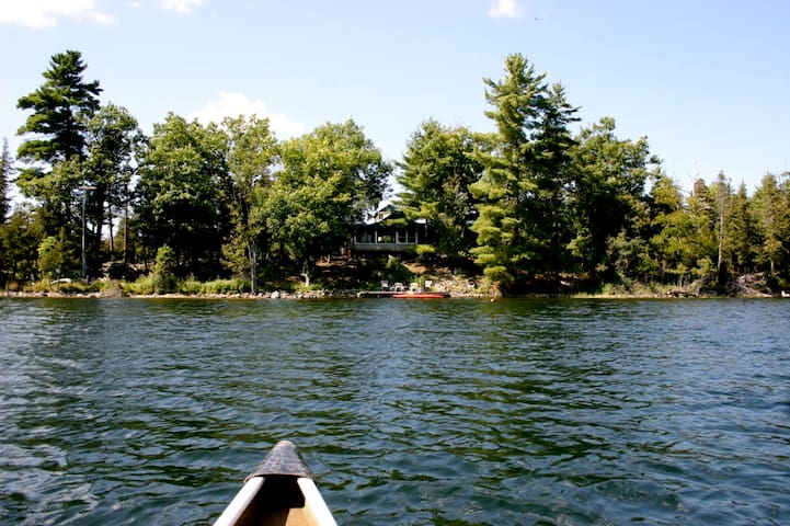 Cottage on private island nr Ottawa - Ottawa - Isla