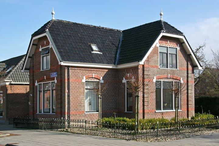 Karakteristiek herenhuis Friesland - Kollum - Ev