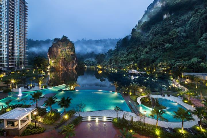 Paradise Resort @ The Haven Ipoh - ipoh - Lägenhet
