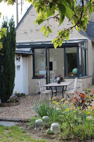Maison de charme proximité d'Angers - Rochefort-sur-Loire - Huis