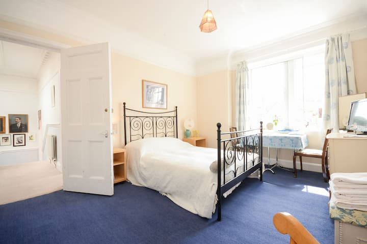 En suite seaside double room - North Berwick - Hus