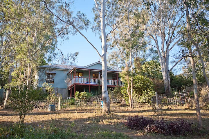 """The Bunyas"" - Rural house 40min ex Brisbane's CBD - Anstead - Rumah"