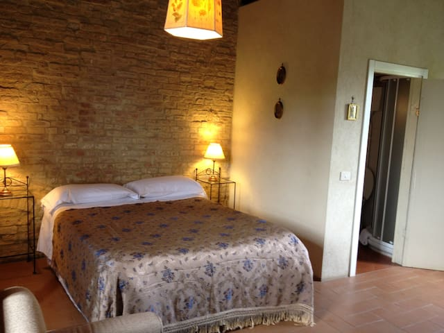 Romantic tuscan tower 2shared pools Siena10 min - Siena - Appartement