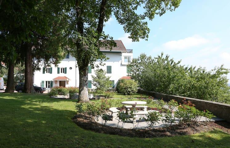 ღSplendid Gem Hills: Geneva's Idyllic calm retreat - Annemasse  - Apartamento