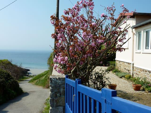 1-1/2BR garden cottage, seaside  - Le Conquet - Dům
