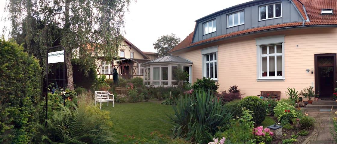 Gemütl. Ferienwohnung  mit Fachwerk - Wernigerode - 公寓