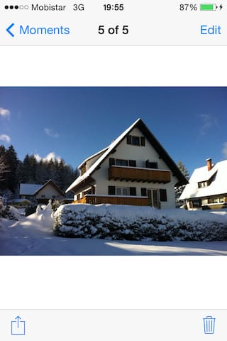 Huis aan het meer Schluchsee - Schluchsee - Huis