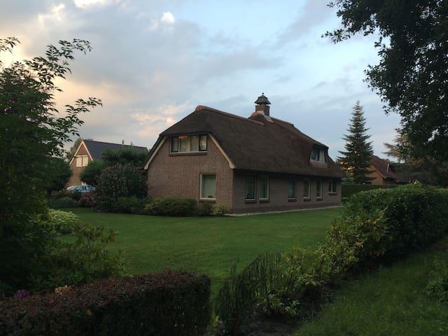 Modern landhuis aan recreatievijver - Emmer-Compascuum - Ház