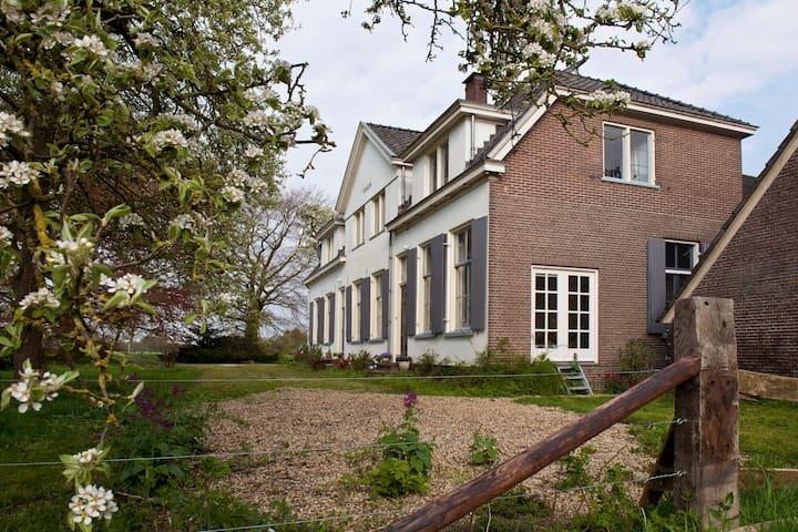 Appartement in boerderij uit 1791 - Brummen - Apartamento