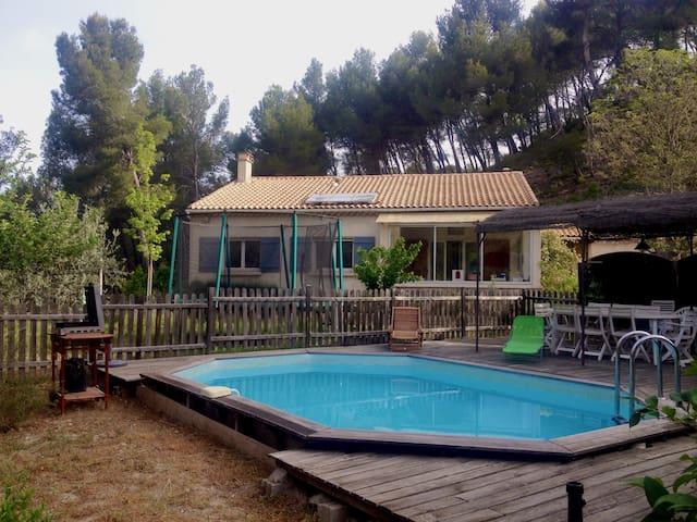 Maison avec piscine et potager - Meyrargues - Hus