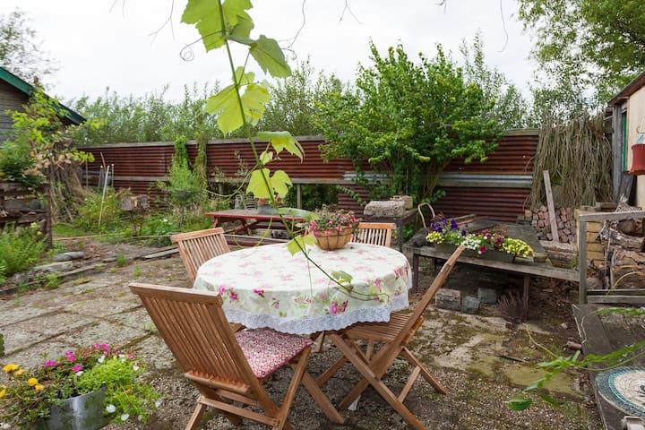 Bed and Breakfast Groen en Blauw - Roelofarendsveen - Oda + Kahvaltı