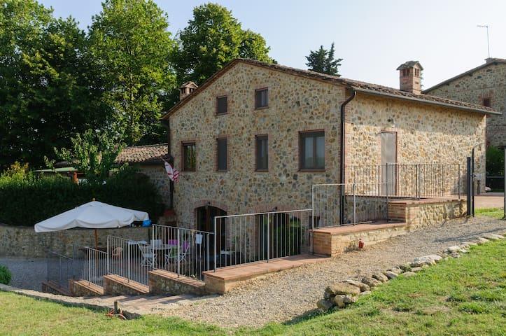 Tuscany Siena Wonderful Apartment  - Lornano - Departamento