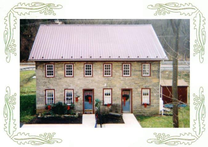 Historic Stone House Lodging - William Penn Suite - Alexandria - Huis