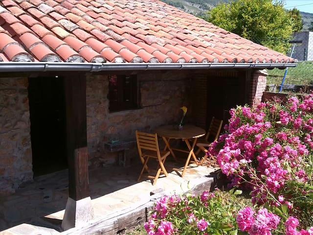 Cabaña de piedra con porche  - Pámanes, Liérganes - Hytte