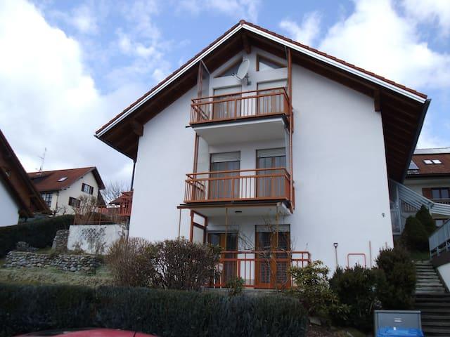 Klein und gemütlich - Scheidegg - Huoneisto