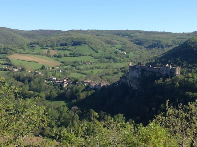 Bastide/middelalderby,Fantastic Vue - Penne, Tarn - Appartement