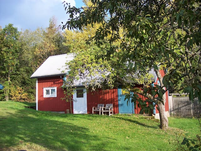 Cozy cabin in the woods - Kyrkhult - Hytte