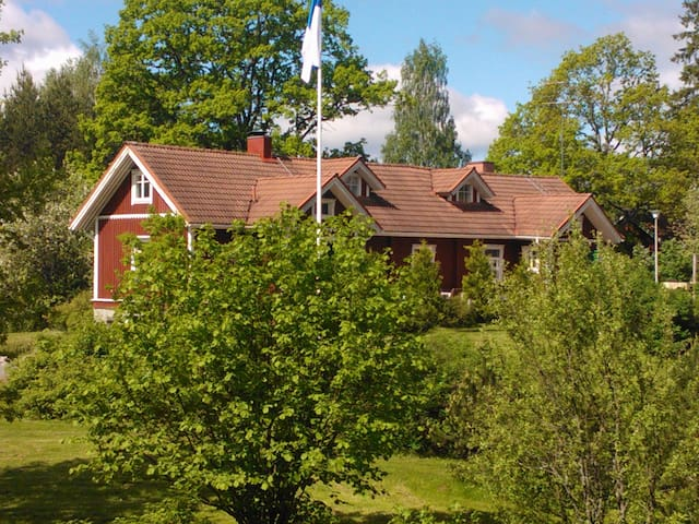 Peaceful holiday in Country House - Lohja - Hus