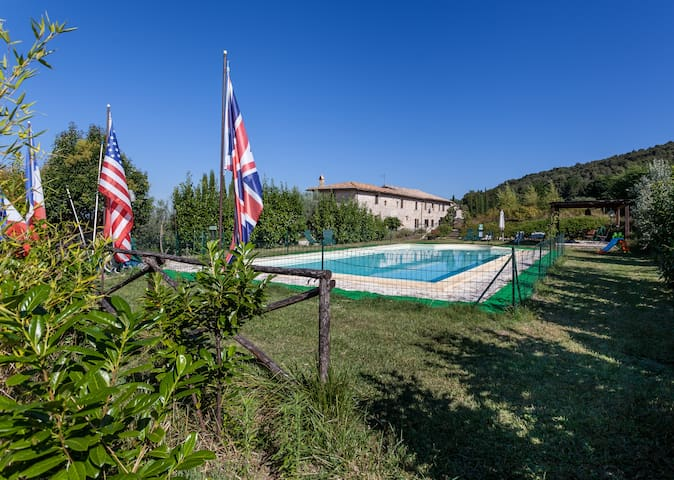 Ancient farmhouse in Umbria - Green - Massa Martana - Apartment