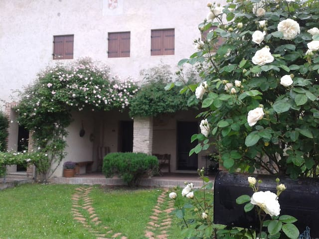 Old Italian stone house - Maser - Appartement