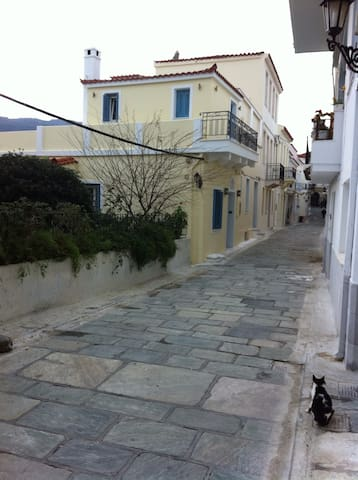 Traditional two floor house 75m2 - Andros - Hus