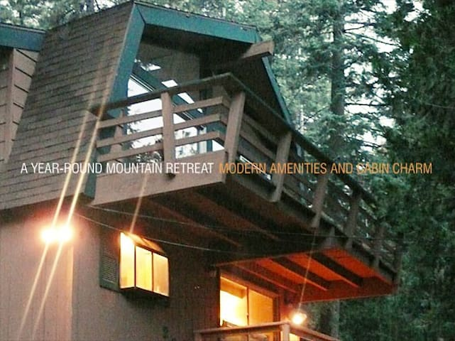 Kid and Pet Friendly Family Cabin - Twin Peaks - Kabin