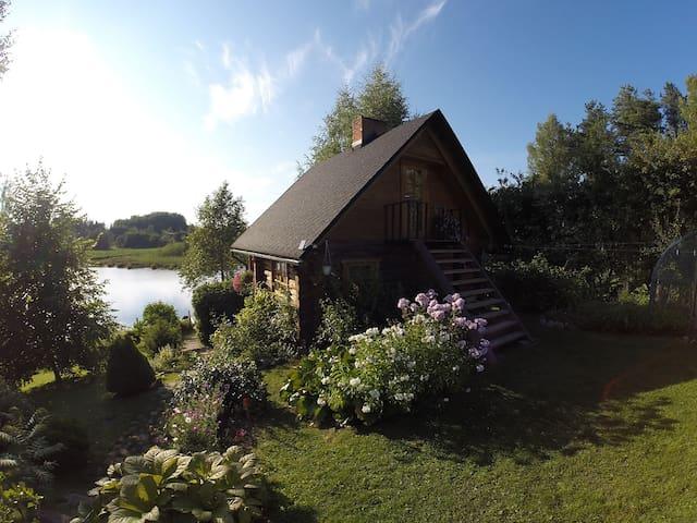 Beautiful wooden sauna house - Maaritsa