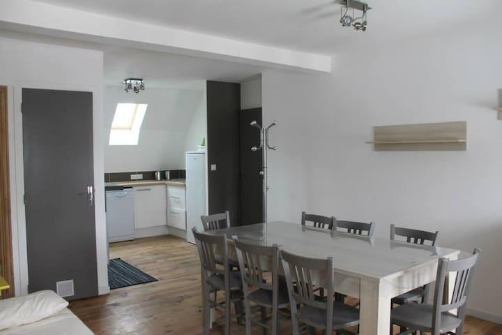 Appartement de charme 6 personnes - Espinchal - Appartement