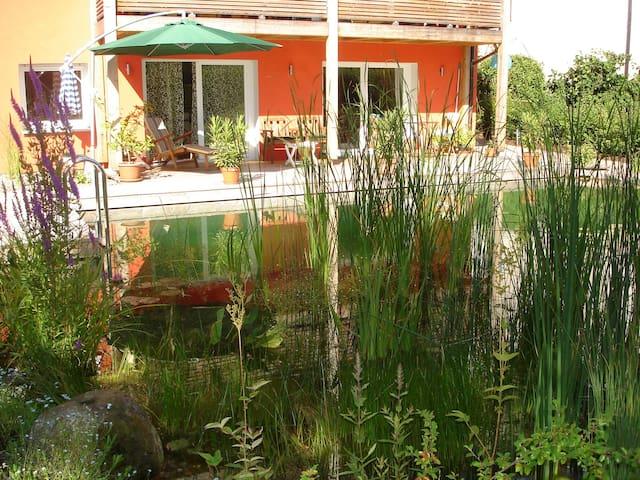Wohnung am Schwimmteich - Stegaurach