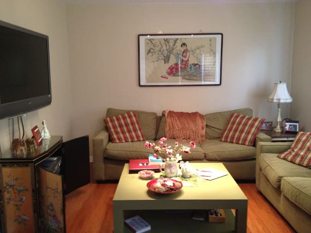 NY 25 min away-Charming NJApartment - Paramus - Casa