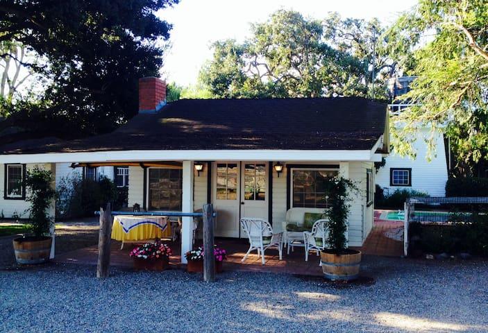 Open beam wine country guest studio - Santa Ynez - Ev