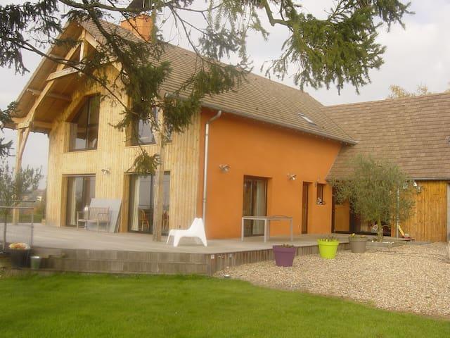 Maison des grandes terres - La Motte-Saint-Jean