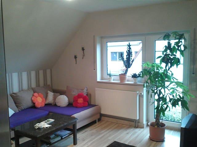 Gemütliches Zimmer bei Leinefelde - Hausen - Huis