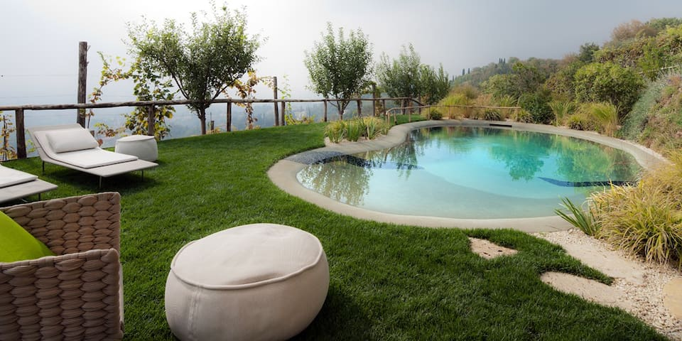 Villa with pool and panoramic view - Asolo - Ház