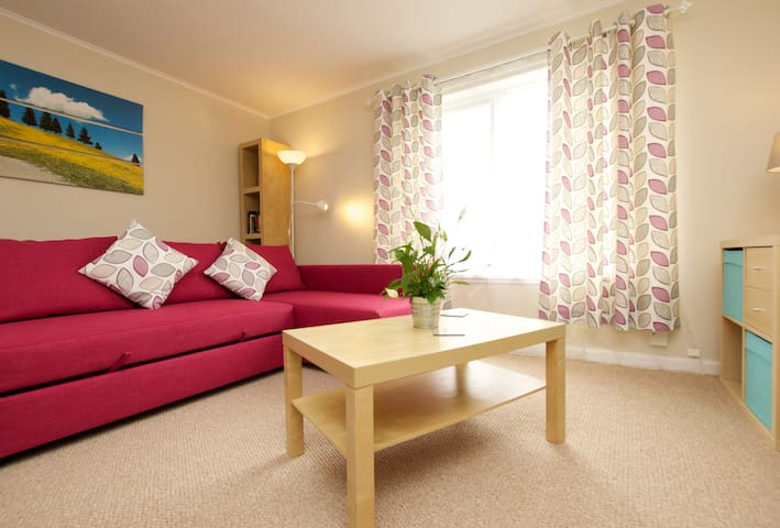 Bright and welcoming flat, just outside Edinburgh - Linlithgow - Lägenhet