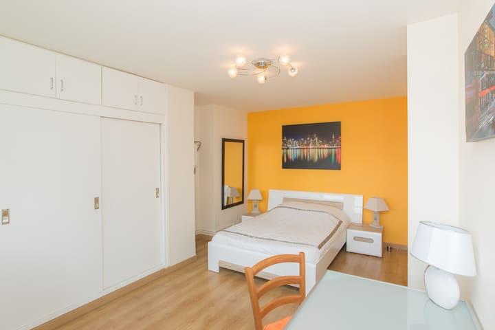 Spacious room in downtown - Nancy - Departamento