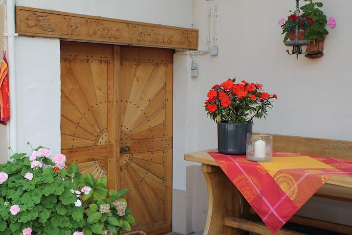 Idyllisches Winzerhaus im Rebenmeer - Pleisweiler-Oberhofen - Appartement