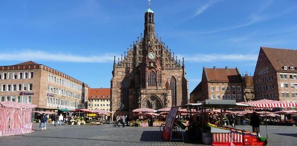 Nürnberg-Zentrum-Innenstadt-Messe - Nürnberg - Apartemen