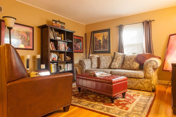 Twin Bed in Private Room Near NYC - Teaneck - Hus