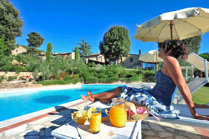 appartamamento in antico casale  - Montaione - Departamento