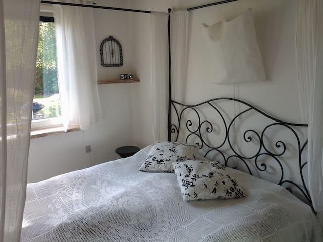 Romantik og økologi i Smedenshave - Grindsted - Bed & Breakfast