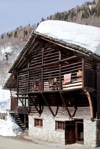 Baita Walser in Val Vogna1 - Riva Valdobbia - Hus