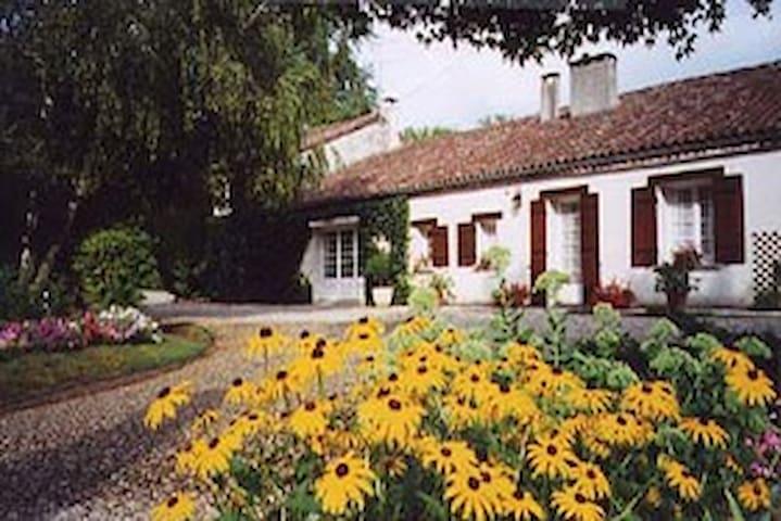 18th Century farmhouse with pool. - Damazan - Casa