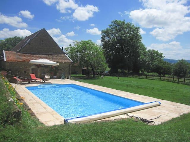 Nice cottage South Burgundy France - Vareilles - Hus