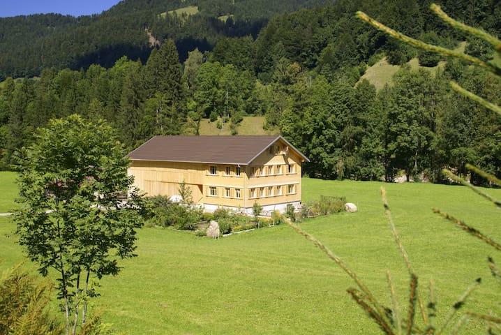 Naturparadies Wildenrain Hittisau - Hittisau - Lakás