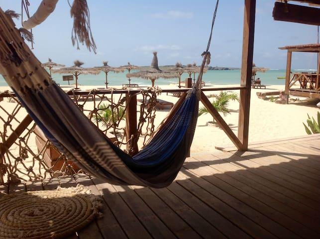 Beautiful room right on the beach - Sal Rei